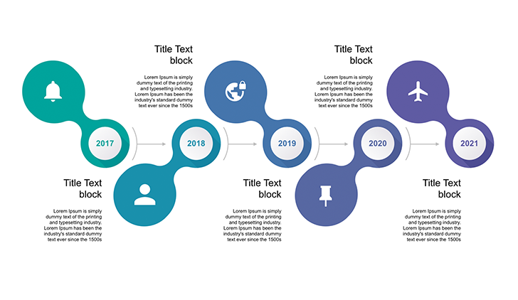 timeline ppt template free free download now