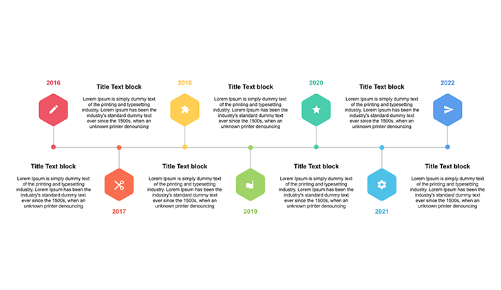 Timeline graphic PowerPoint - Free Download Now!