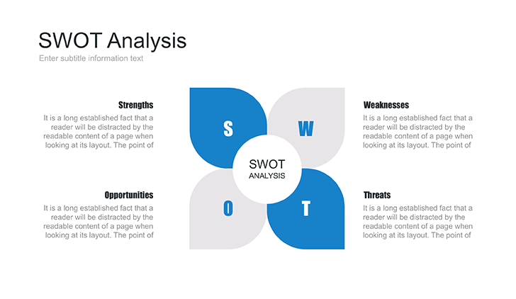 Swot Template | Powerpoint Swot Template Free Download Now