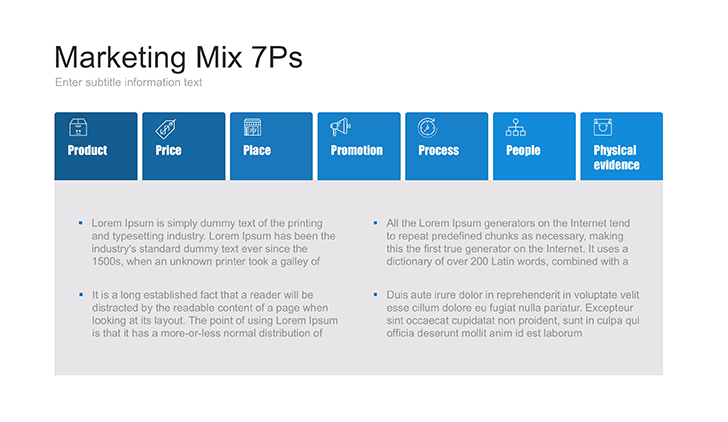 product line and product mix ppt