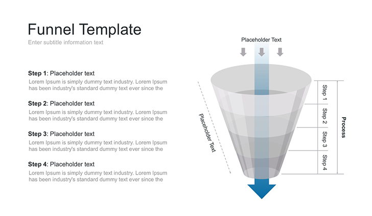 Sales funnel PPT template for PowerPoint - Free Download Now!