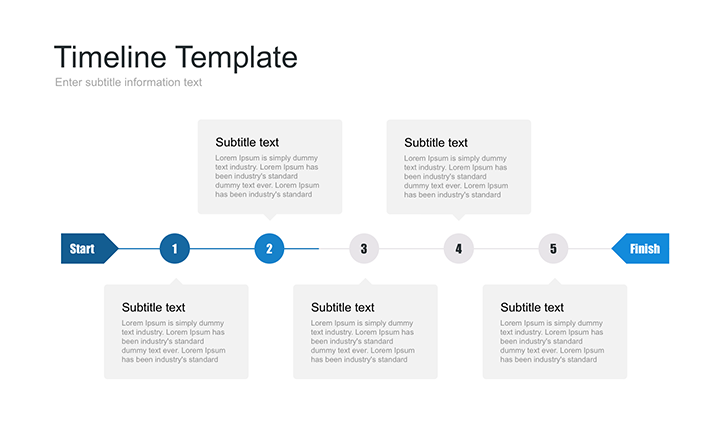 timeline powerpoint template free download now