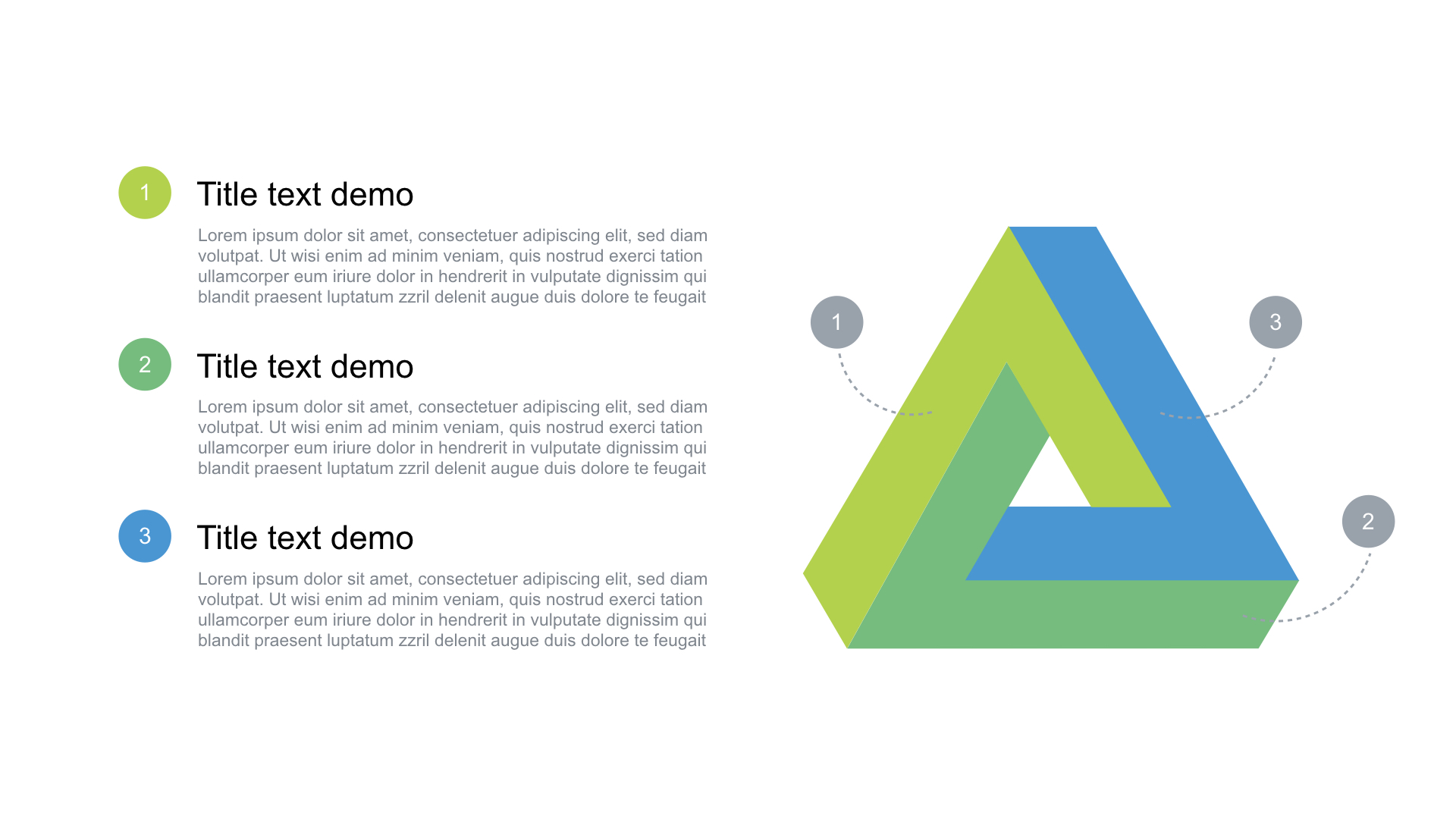 Triangle Free Ppt Template Powerpoint Free Download