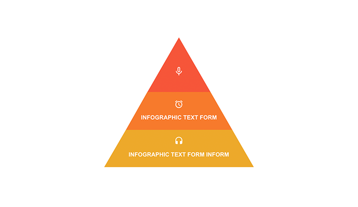 pyramid with segments ppt free download
