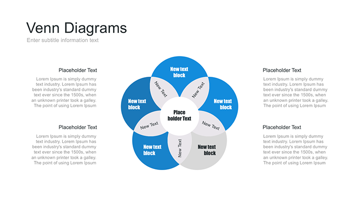 Venn Diagrams Template For Business Free Download Now