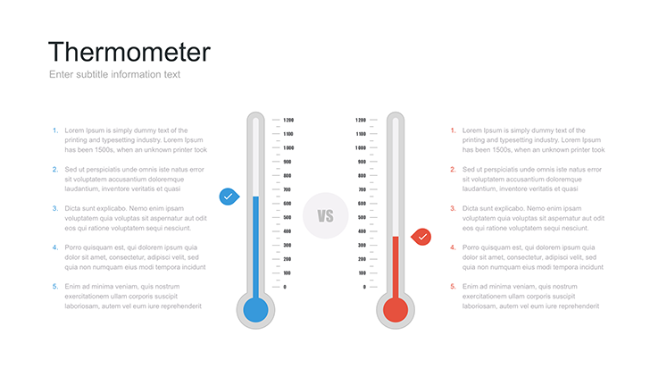Free Thermometer Template for Google Slides - Free Download Now!