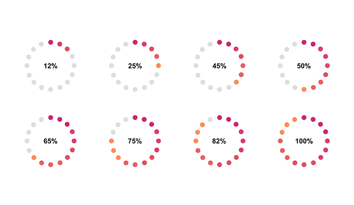 Beautiful Pie Chart For Keynote Free Download Now