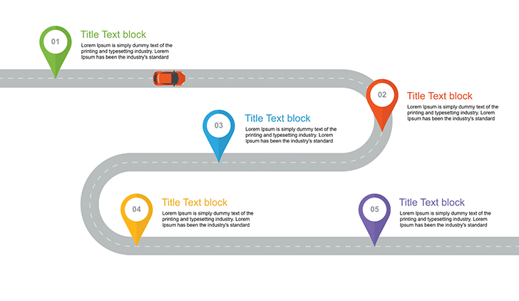Roadmap Slide Template Free Free Download Now - Website roadmap template