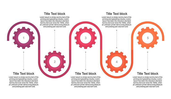Printable gear template for Keynote - Free Download Now!