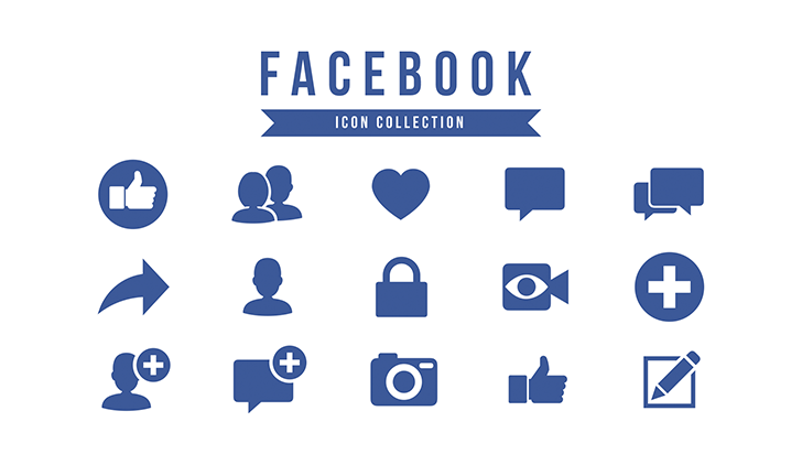 Facebook Presentation Template Icon Pack Free Download Now
