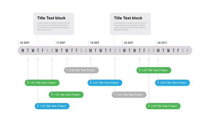 Project Timeline Diagram For Keynote Download Free Now