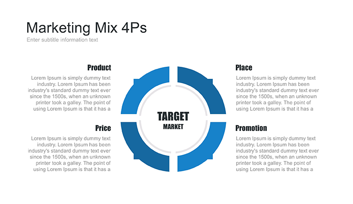 marketing mix template for keynote free download now