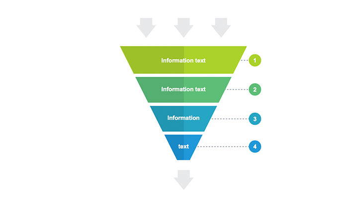Funnel diagram templates for keynote free download now funnel chart 4 step keynote ccuart Image collections