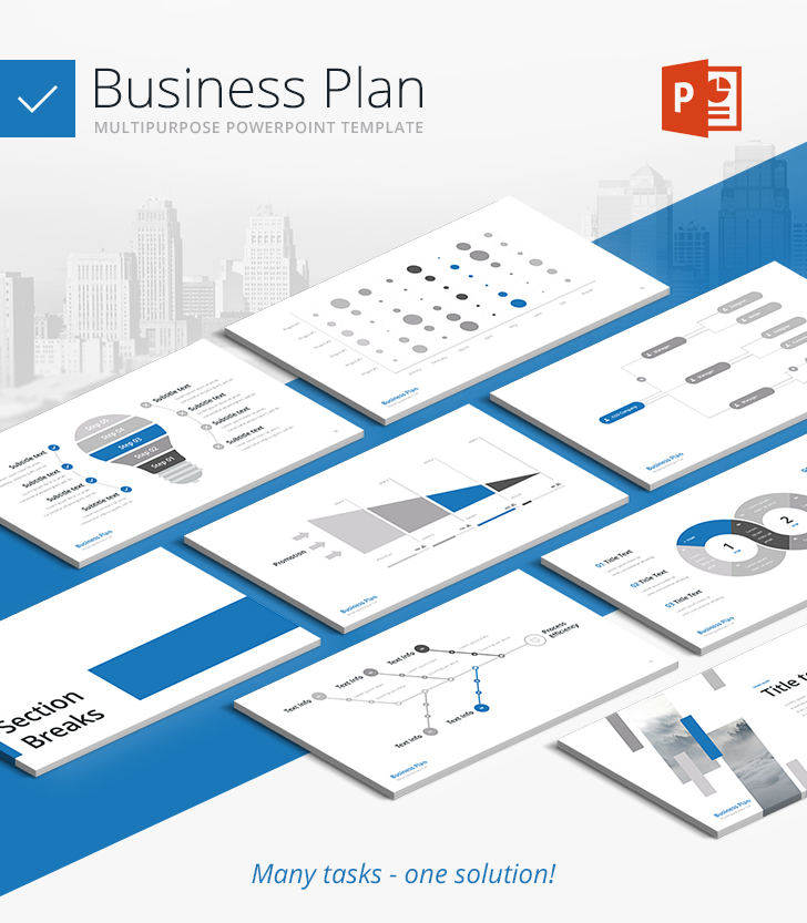 Business Plan Multipurpose Powerpoint Template Download Now