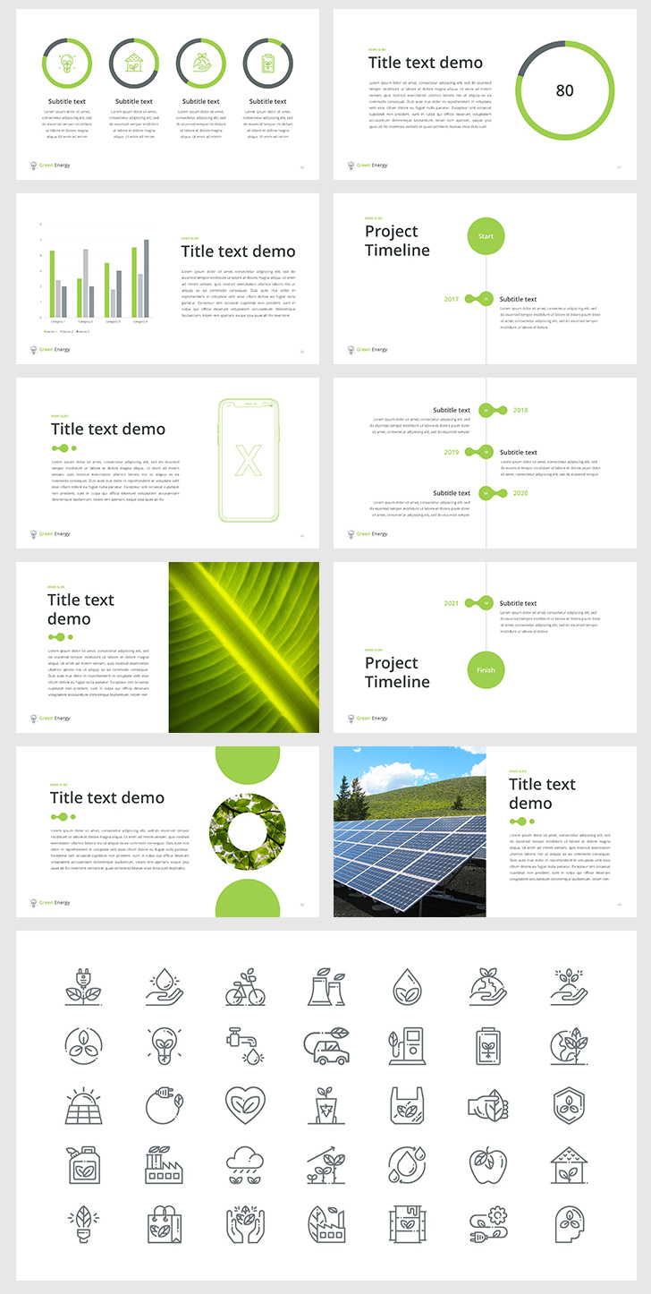Green energy powerpoint template download now green energy powerpoint template toneelgroepblik Choice Image