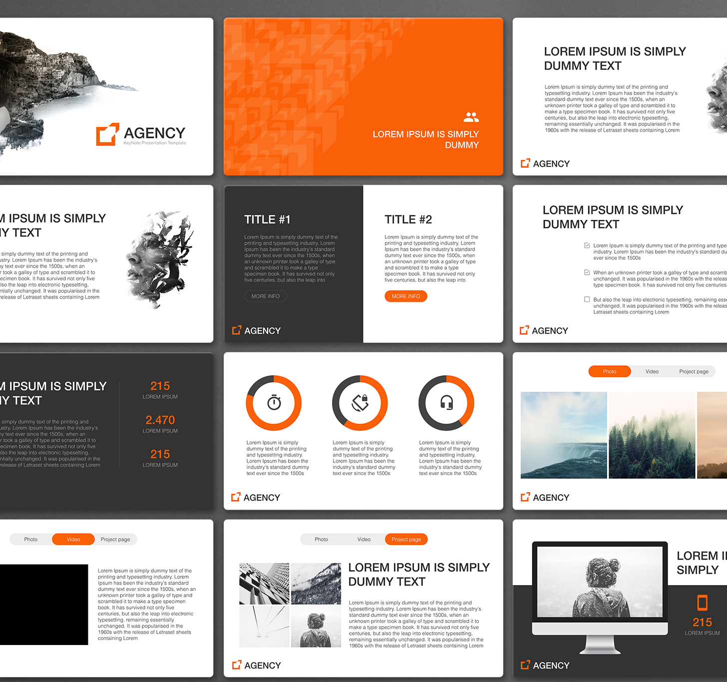 Agency powerpoint template download now what is the agency powerpoint template for toneelgroepblik Images
