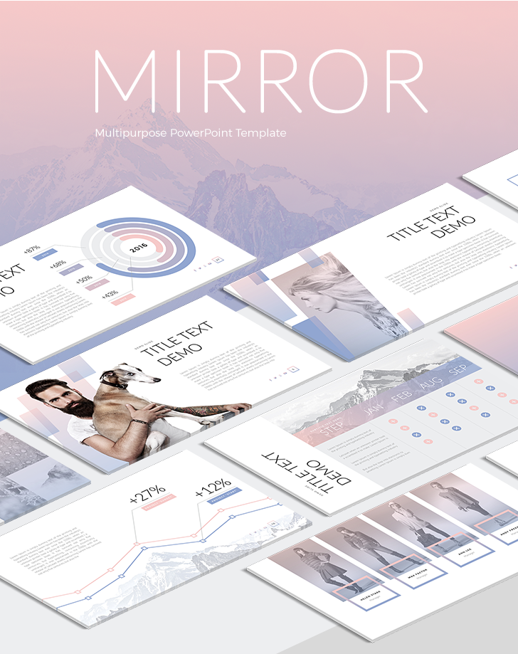 mirror powerpoint template download now