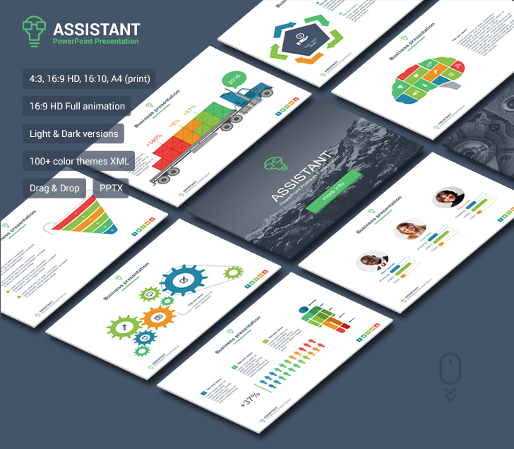Assistant powerpoint template download now assistant powerpoint template toneelgroepblik Images