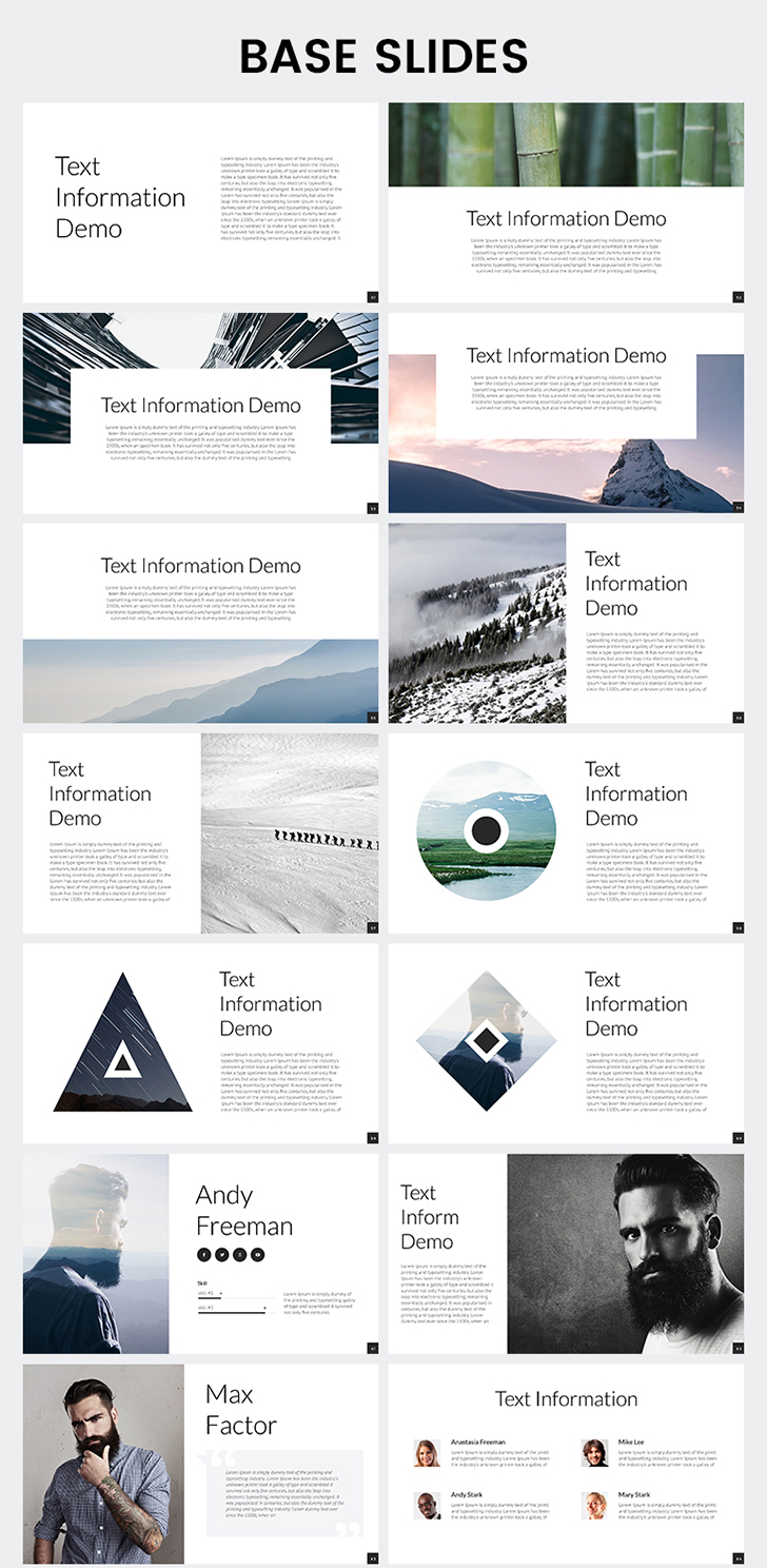 Corporate report powerpoint template download now corporate report powerpoint template toneelgroepblik Gallery