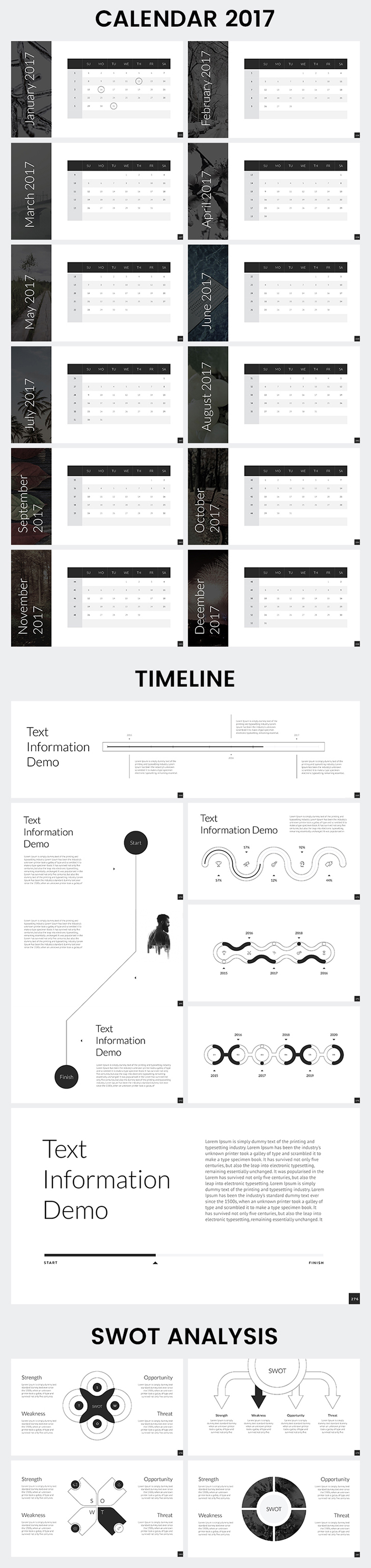 Calendar Powerpoint Template Images - Templates Example Free Download