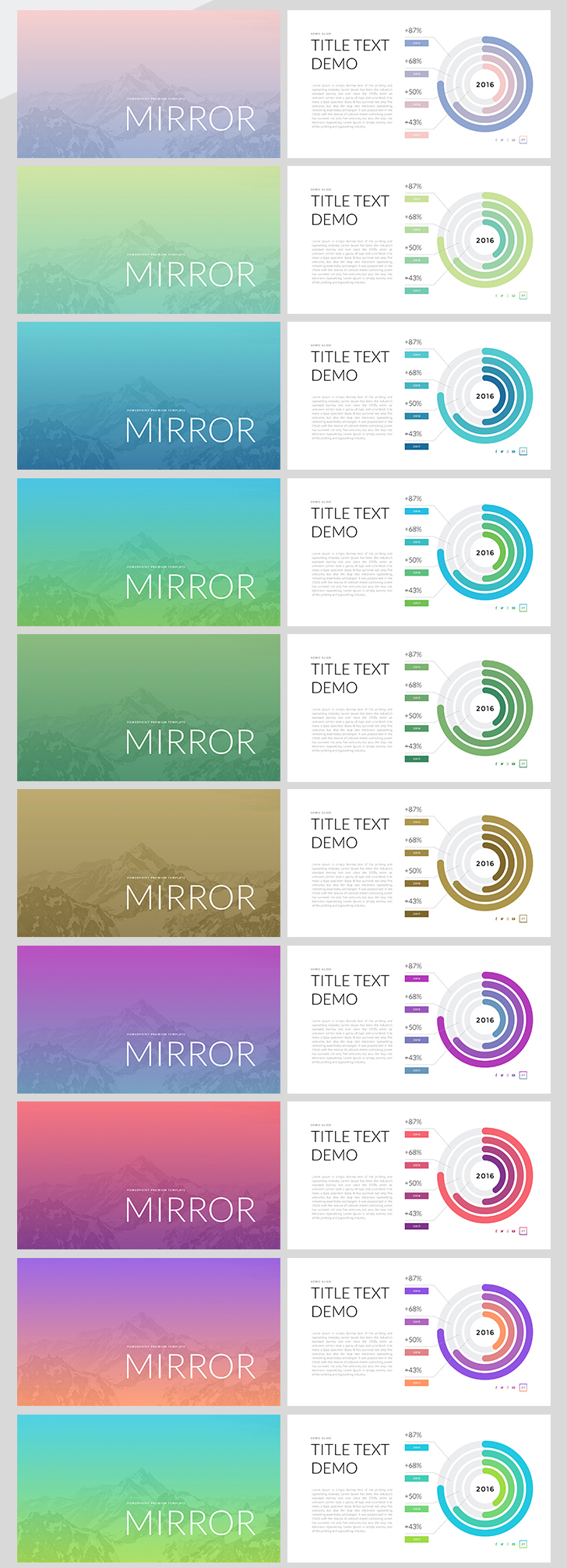 mirror keynote template for mac download now