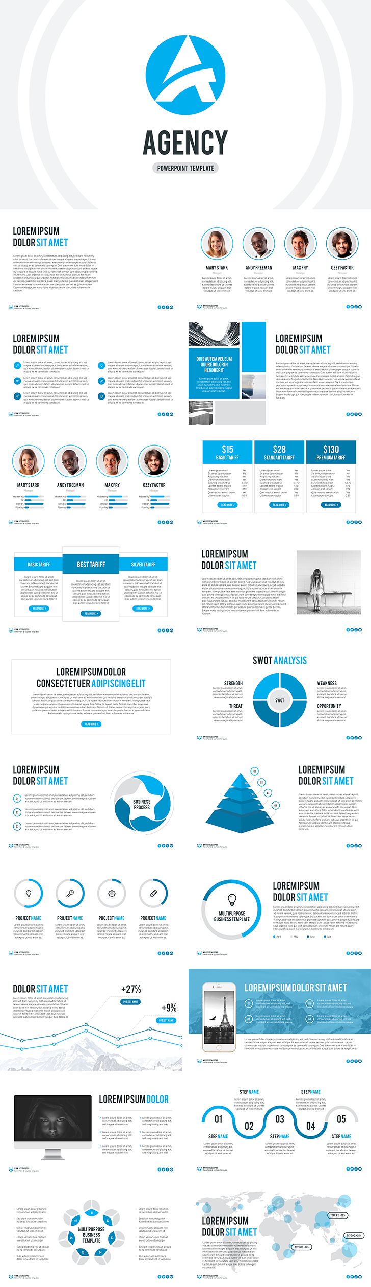 Agency free powerpoint template download free are you tired of looking for unique presentation for your project no longer need to look for just download agency free powerpoint template for free and toneelgroepblik Image collections