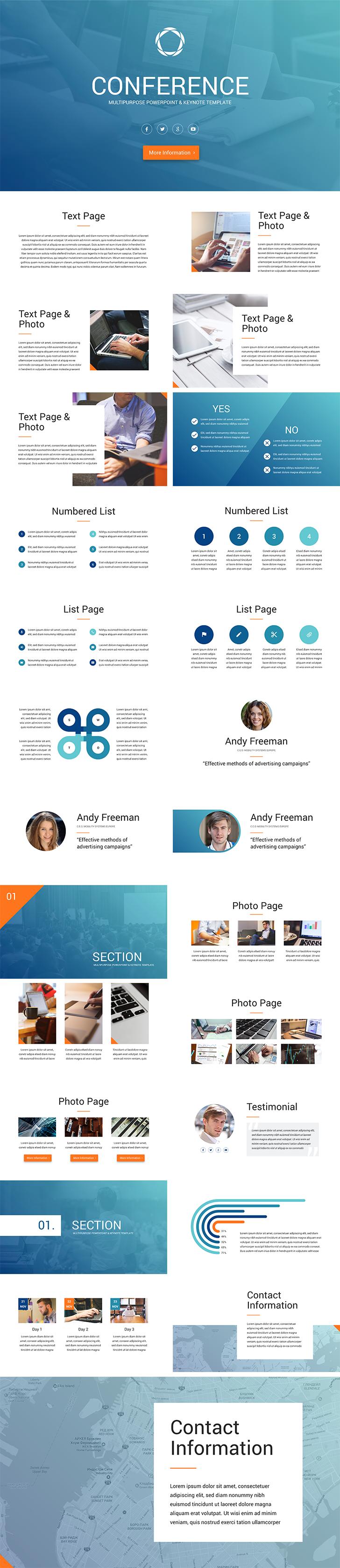 conference keynote template free download now