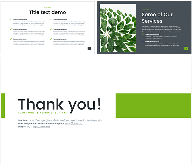 Nature Powerpoint Templates Free Download
