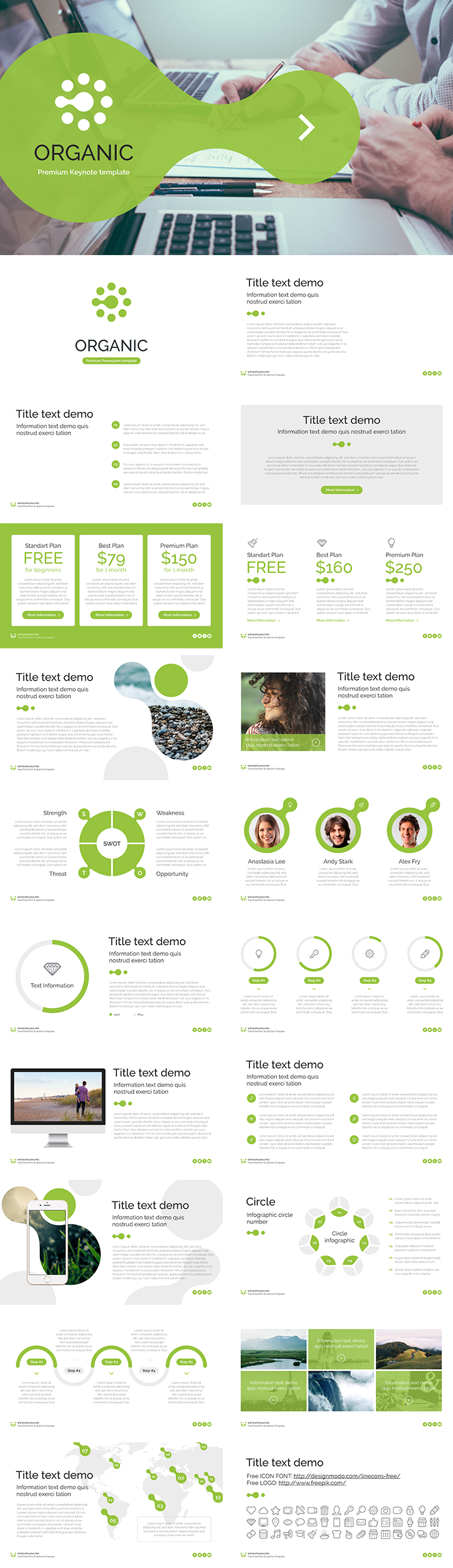 Free keynote template organic free download now for Free keynote template